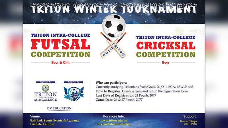 Futsal and Cricksal Competition 2077