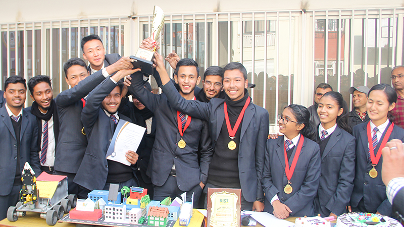 Inter-College Sci-Tech Competition Winners