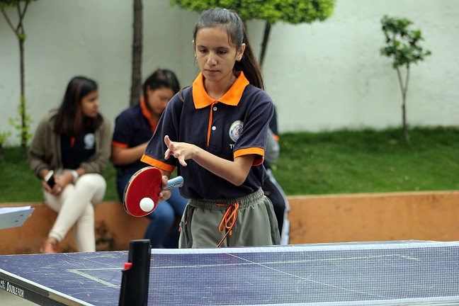 Intra-College Girls Badminton & TT Competition
