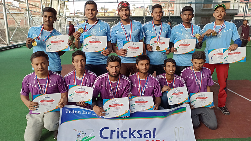 Intra-College Cricksal Competition 2076