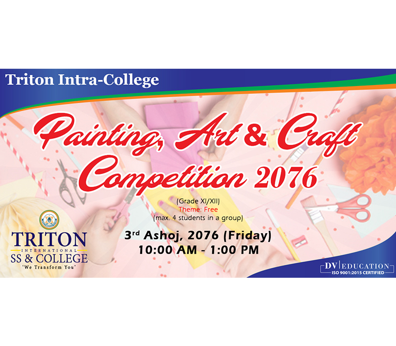 Painting, Art and Craft Competition