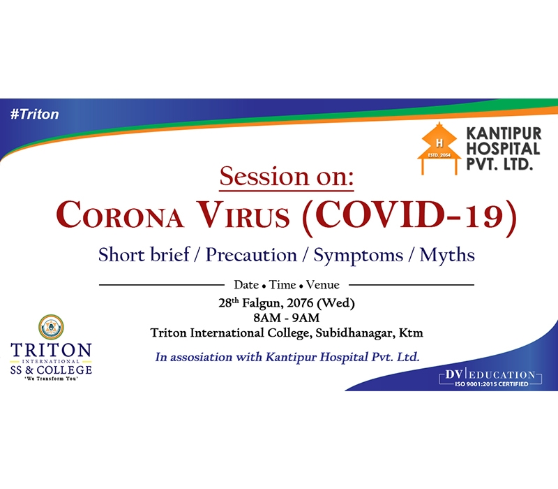 Awareness Session on Corona Virus