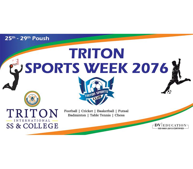 Triton Sports Week 2076